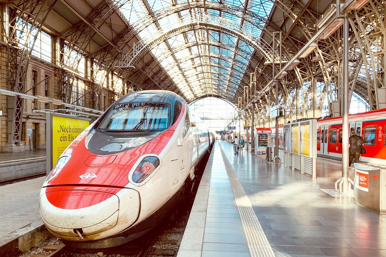 DB - Deutsche Bahn - ICE- hurtigtog - Tysk Turist Information