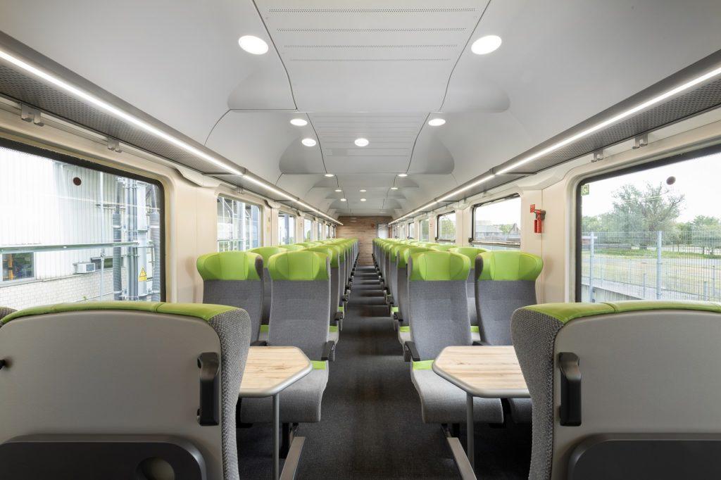 Togvogn - Kupé - Flix Train - Sverige 2021