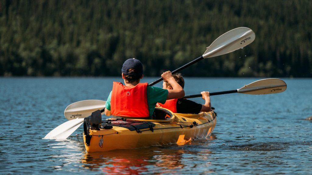 Åre - Jemtland - Sverige - Kajakkpadling