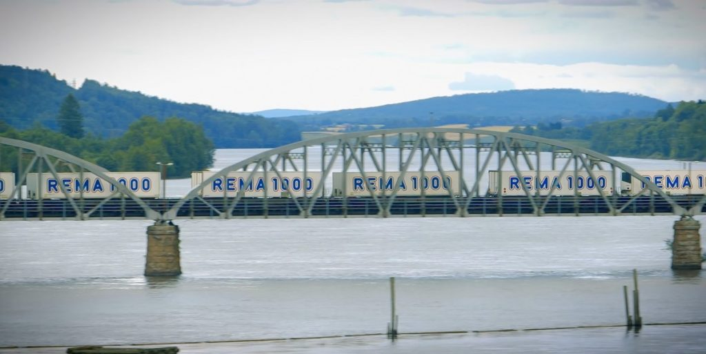 Rema - Reitan handel - Godstog