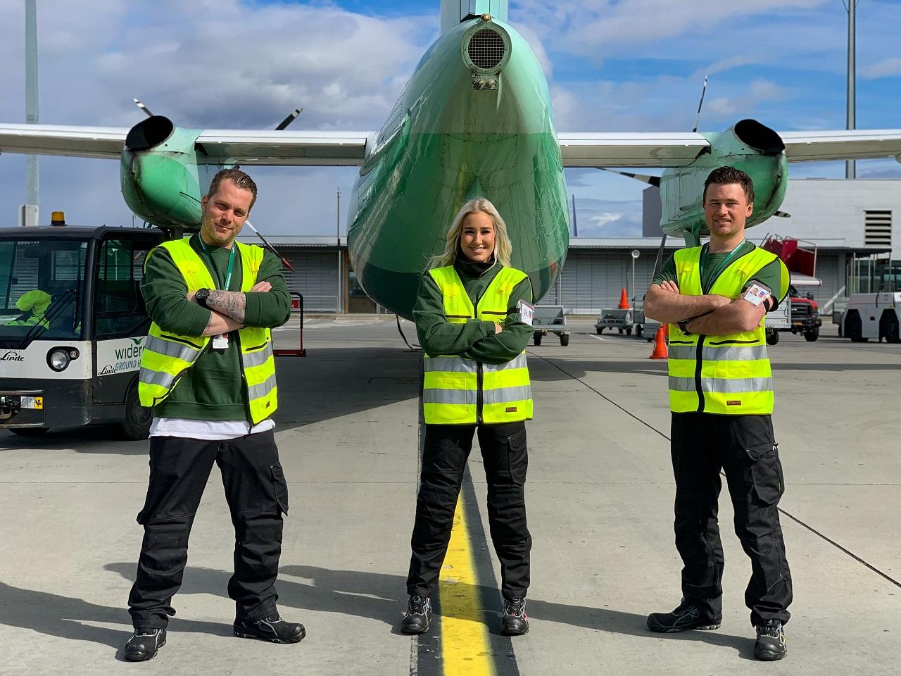 Medarbeidere - Widerøe Ground Handling - WGH - Oslo lufthavn