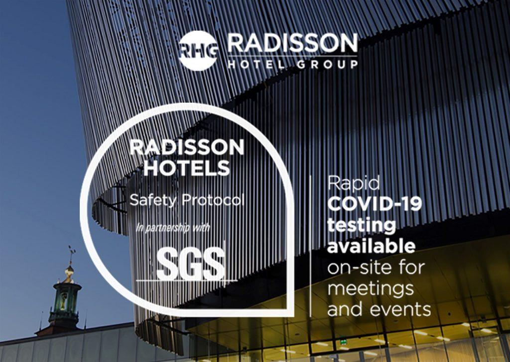 Radisson Hotel Group  - Lanserer eget Covid-19 testprogram