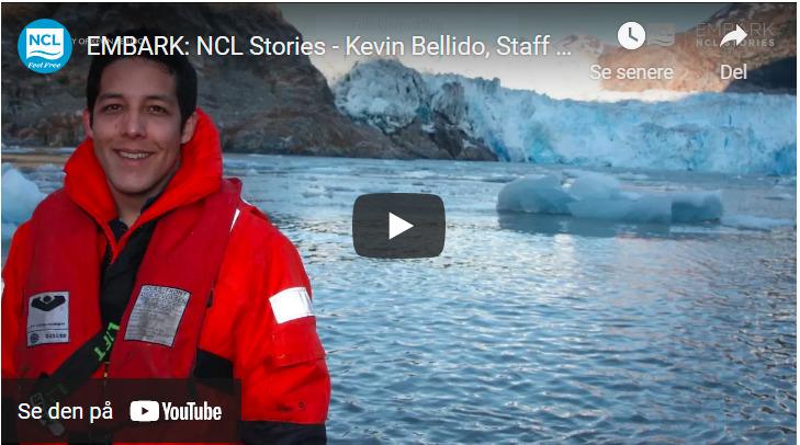 Embark NCL - Kevin Bellido - Staff Captain - Norwegian Encore