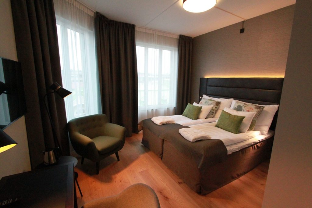 Seng - Nye rom - Clarion Collection Hotel Victoria - Jönköping - Sverige