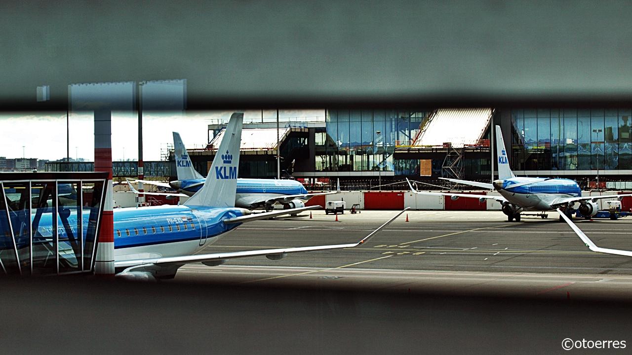 KLM - Schiphol airport - Amsterdam