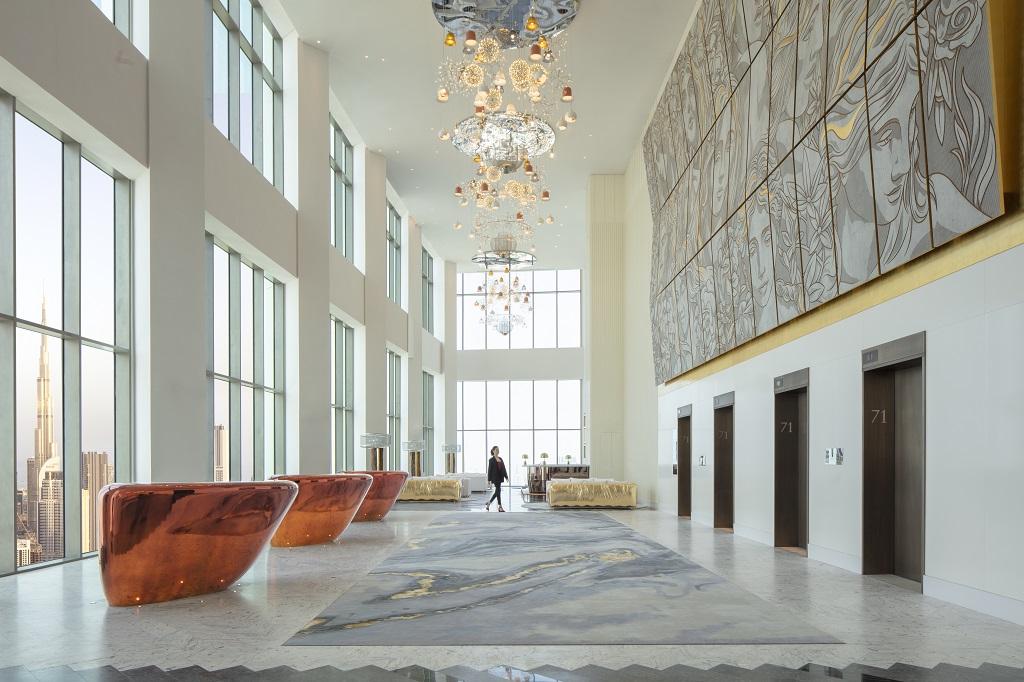 Lobby - SLS Dubai Hotel & Residences - Dubai - Forente arabiske Emirater