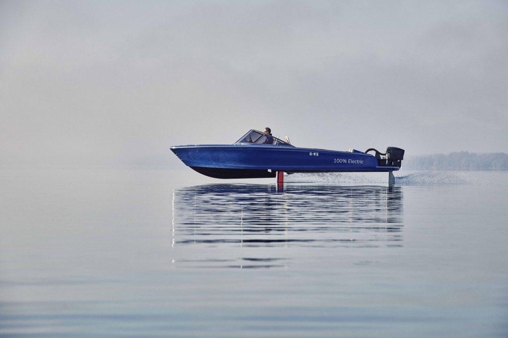 Torqeedo - Candela Seven - Elbåt - elektrisk speedbåt - Sverige