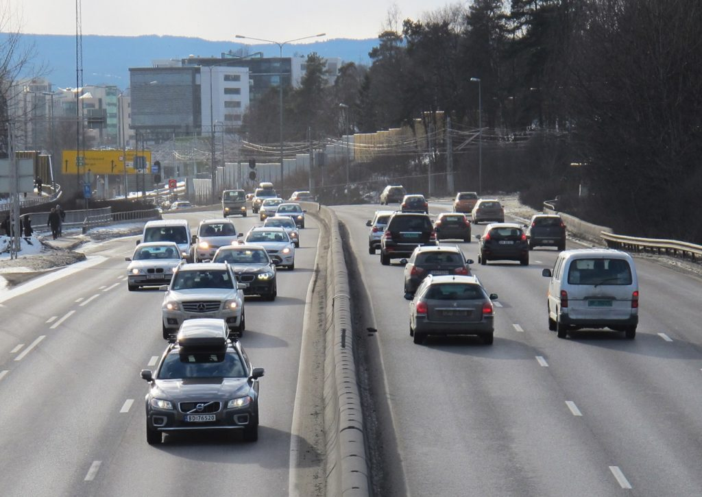 Biltrafikk - Oslo - Norge - If