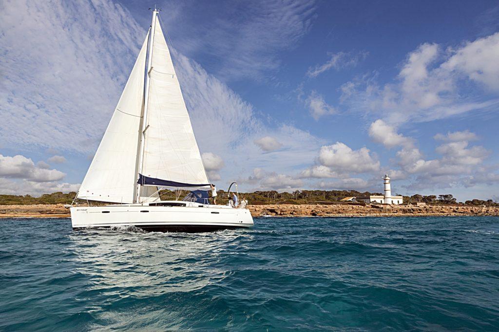 Seilbåt - Mallorca - Middelhavet