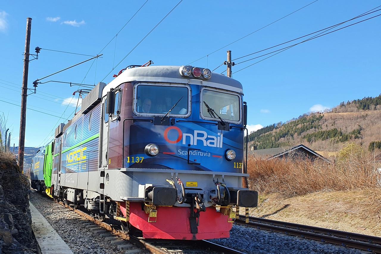 Onrail - Godstog - Fåberg - Dovrebanen