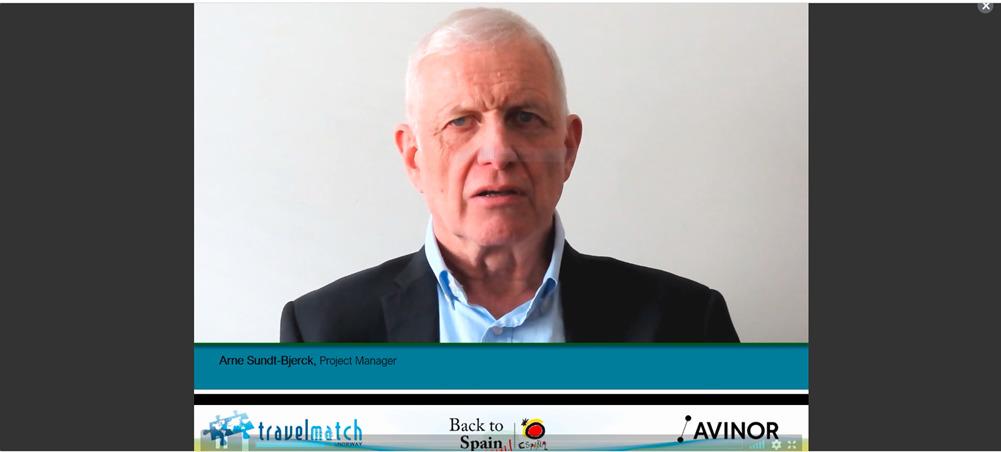 Arne Sundt-Bjerck - Åpning - Travelmatch 2021 - Online