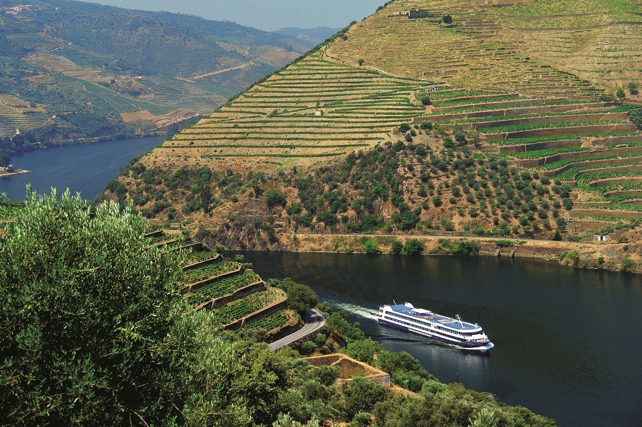 Elvecruisebåt - Dourodalen - Portugal