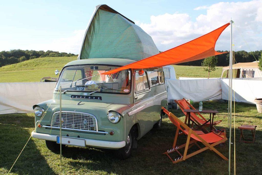 Campingmuseum - Egeskov Slot - Fyn - Danmark