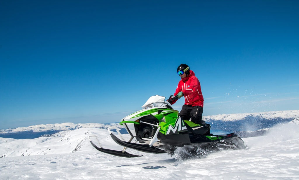 Snøscooter - Løyper - Naturområder - Norsk Friluftsliv