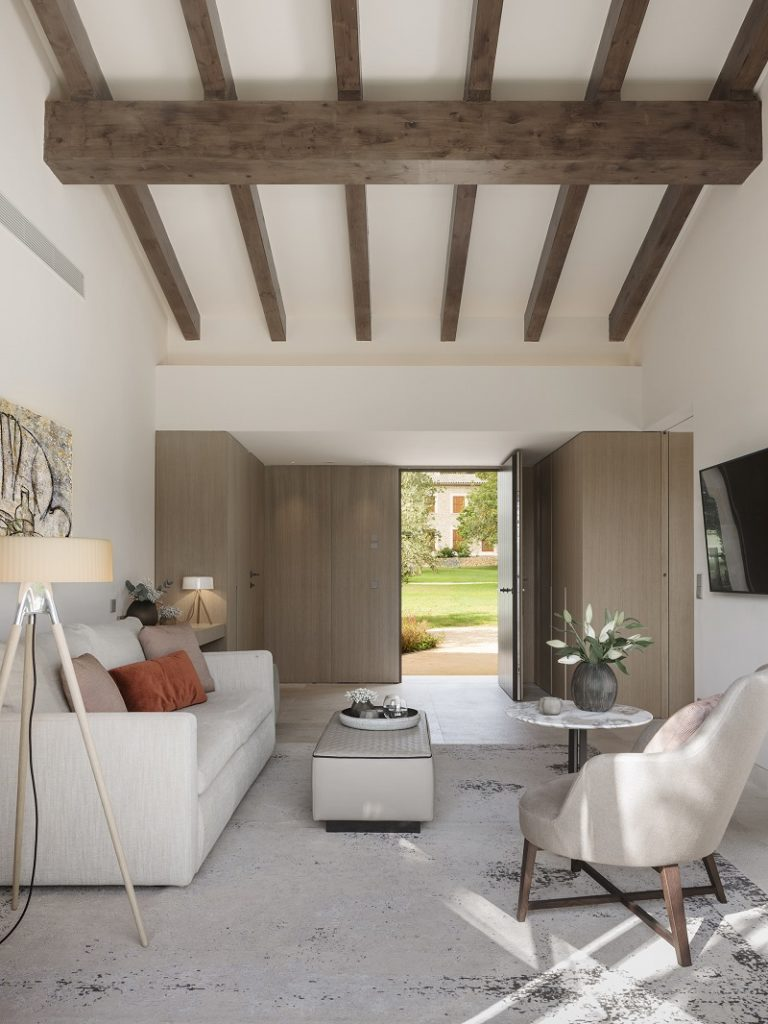 Pool suite - ny 2021 - Privat pool - Castell Son Claret - Village - Boutiquehotell - Mallorca, Spania