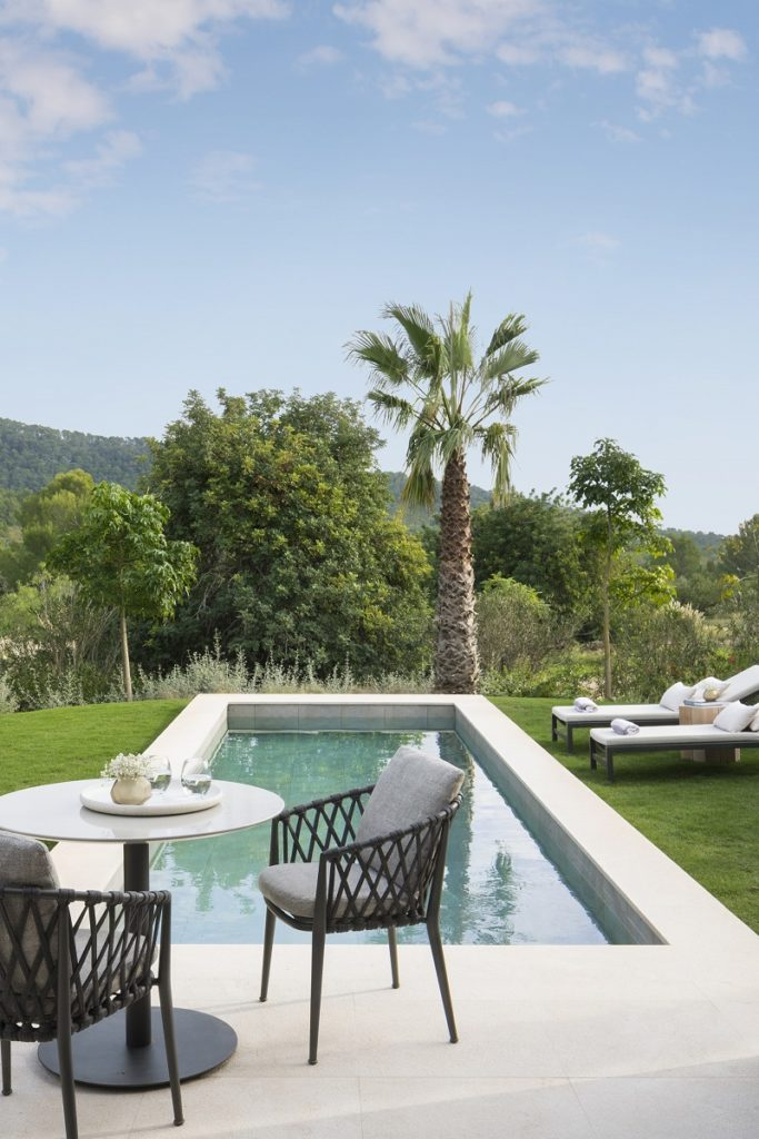 Privat pool - Castell Son Claret - Village - Boutiquehotell - Mallorca, Spania