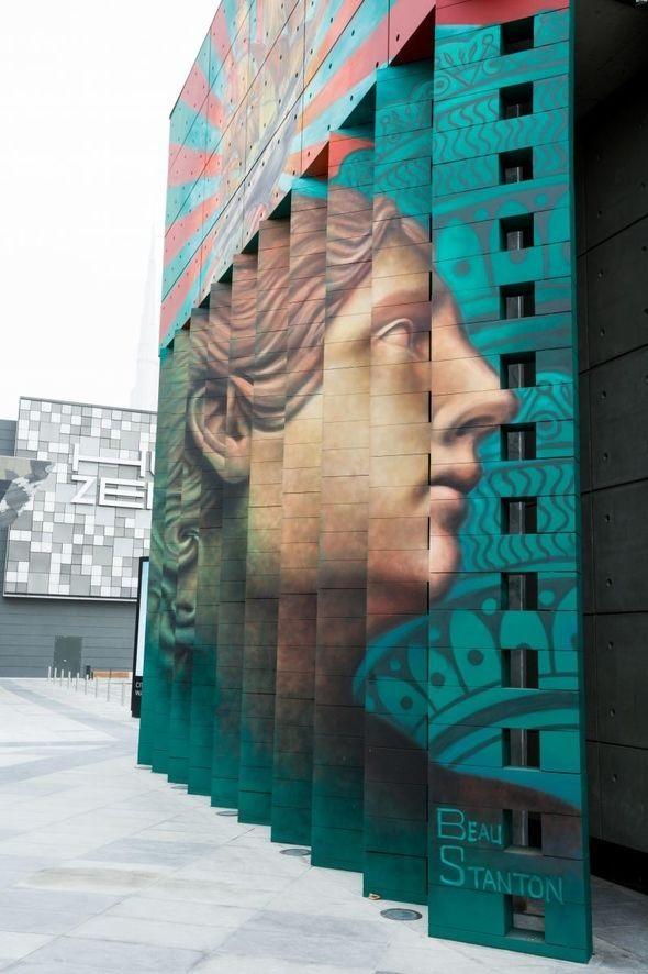 City Walk - Gatekunst - Street Art - Dubai - De forente arabiske emirater