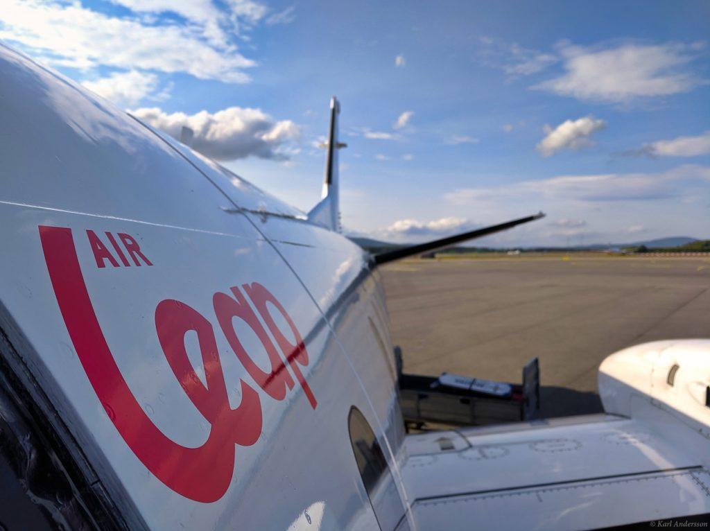 Saab 340 - Turboprop - Air Leap - Sverige
