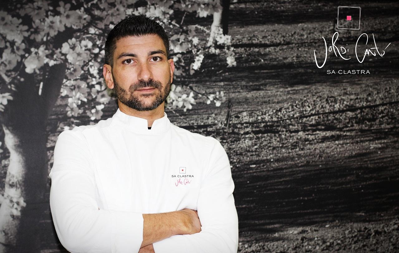 Jordi Cantó - kokk - Restaurant Sa Clastra - Castell Son Claret - Mallorca, Spania