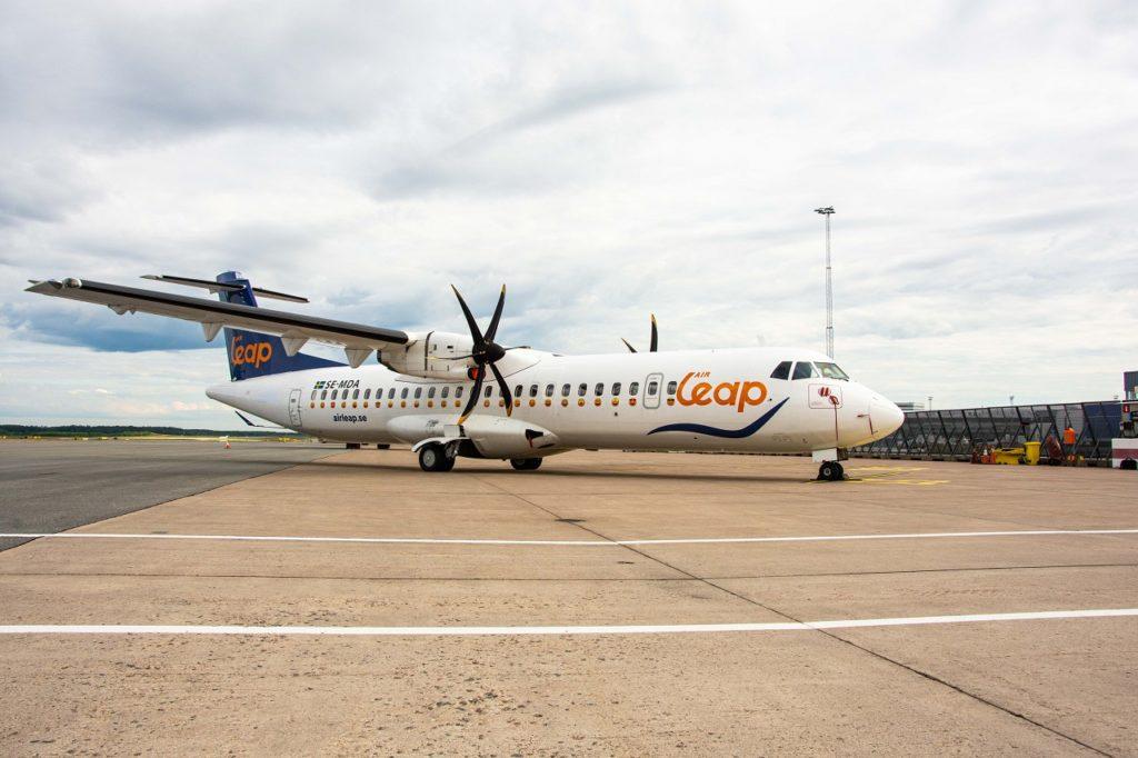 ATR 72 - turboprop - Air Leap - Sverige