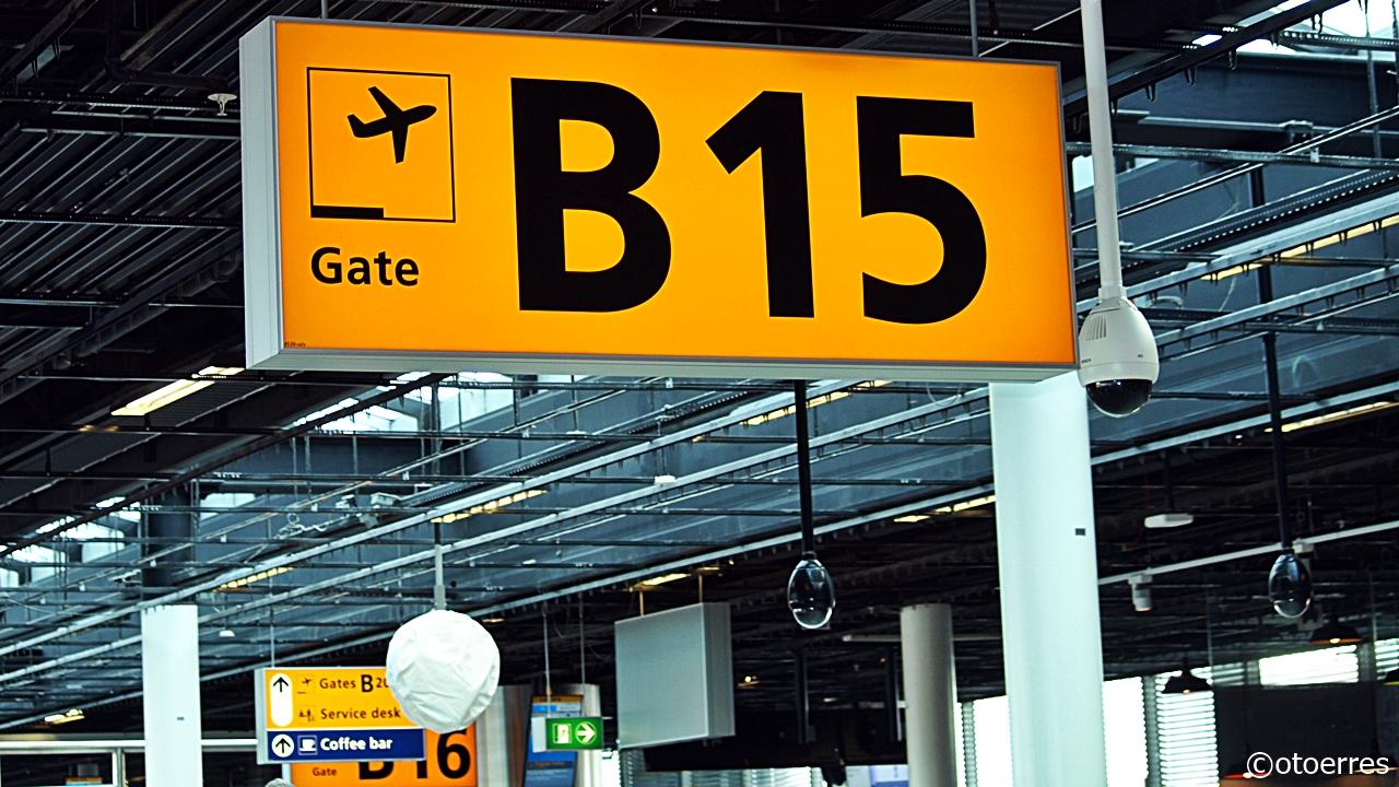 Gate - Terminal - Schiphol - Amsterdam - Nederland