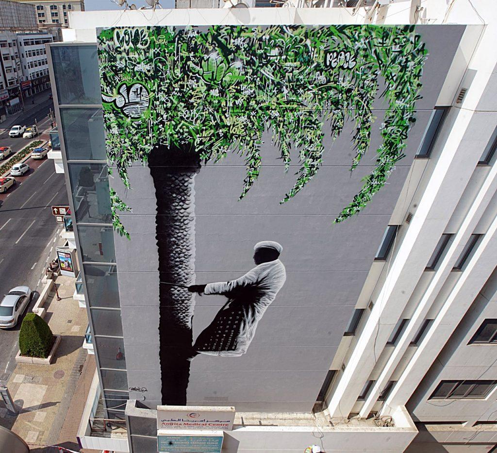 Satwa - Gatekunst - Street Art - Dubai - De forente arabiske emirater