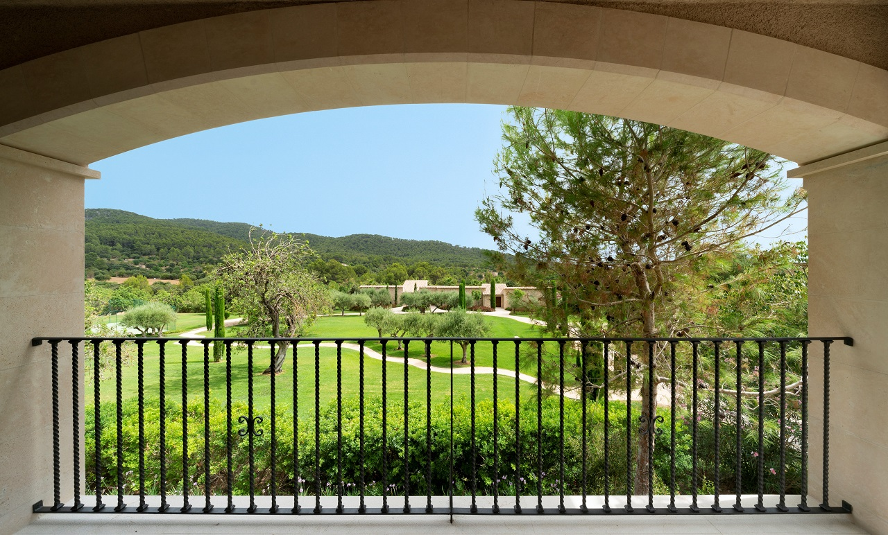 Suite - utsikt - Castell Son Claret - Village - Boutiquehotell - Mallorca, Spania