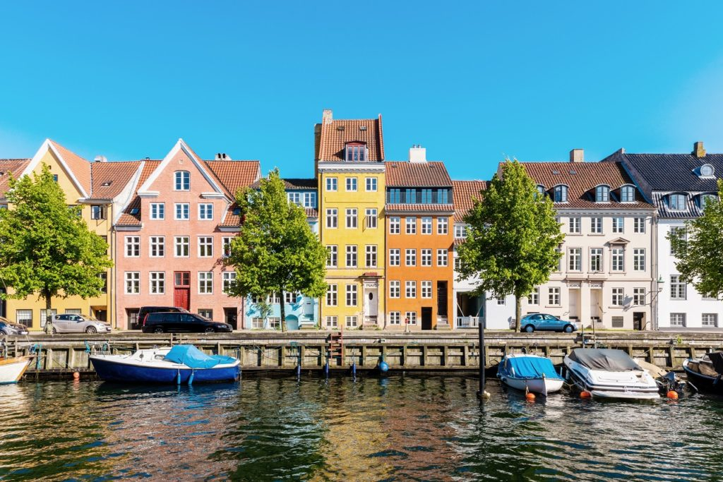 Nyhavn - Kanal - København - Danmark - Apollo