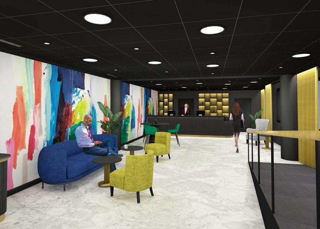 Thon Hotel Ålesund - oppussing - 2021
