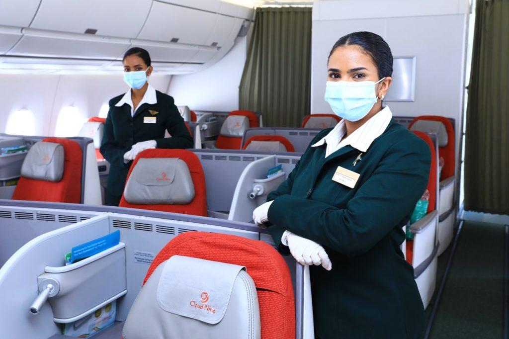 Kabinansatte - Flykabin - Boeing 787 - Ethiopian
