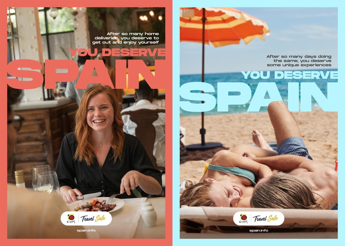 You deserve Spain - Turistkampanje - post corona - 2021