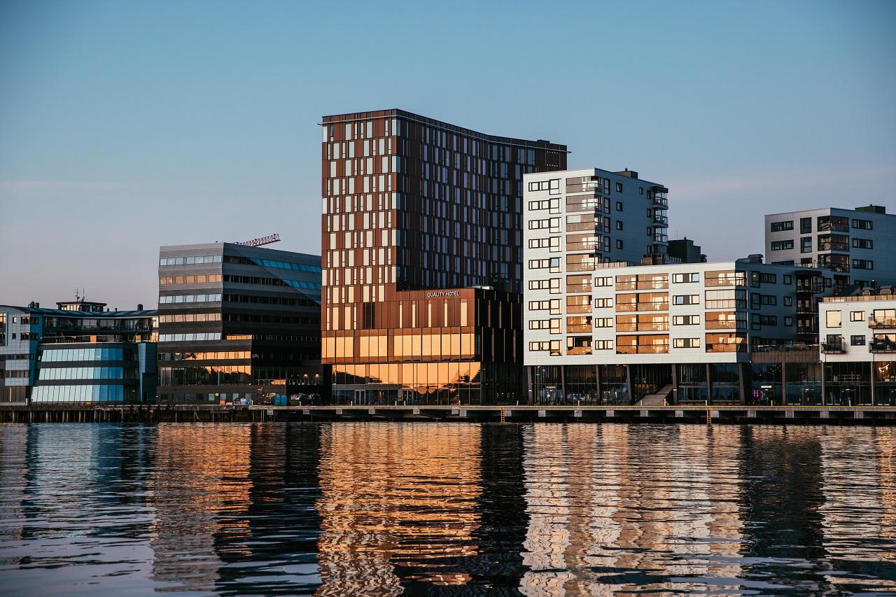 Fasade - Quality Hotel Ramsalt - Bodø