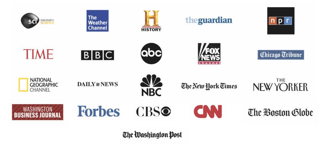 Draken Harald Hårfagre - Internasjonal medieomtale