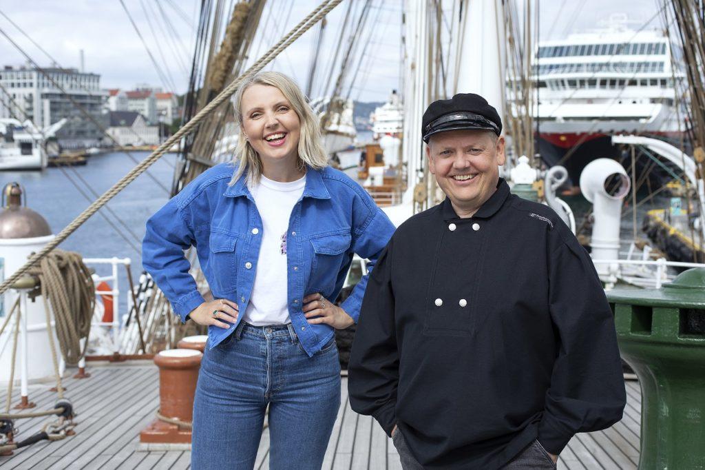 NRK Sommerskuta 2021 - Statsråd Lehmkuhl - Sommeråpent - Programledere