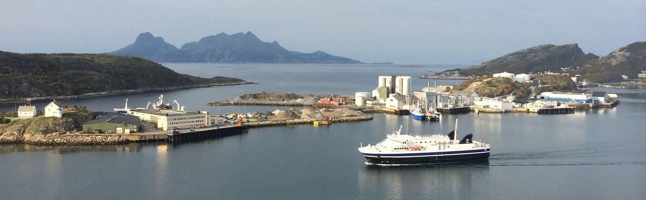 Bodø by - Ferje - Rønvik - Landegode