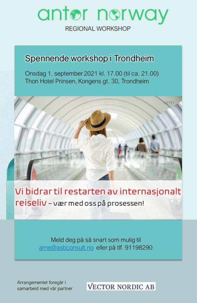 ANTOR -regional workshop - Trondheim 2021