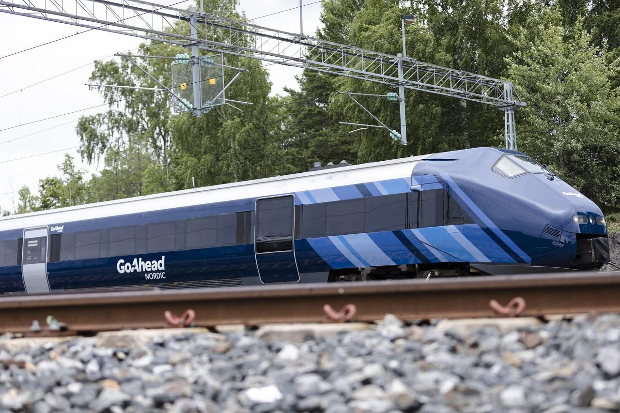Togsett - Sørtoget - Sørlandsbanen - Go Ahead Nordic