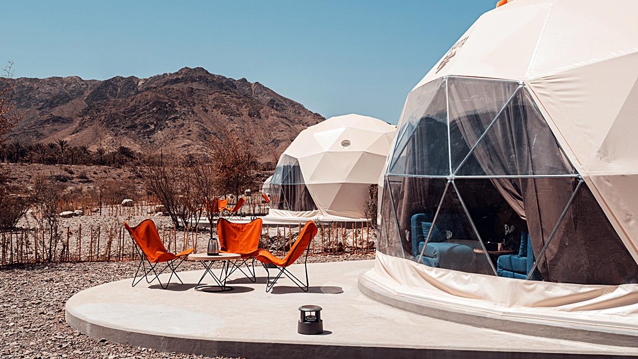 Glamping - Hatta Dome Park - Dubai