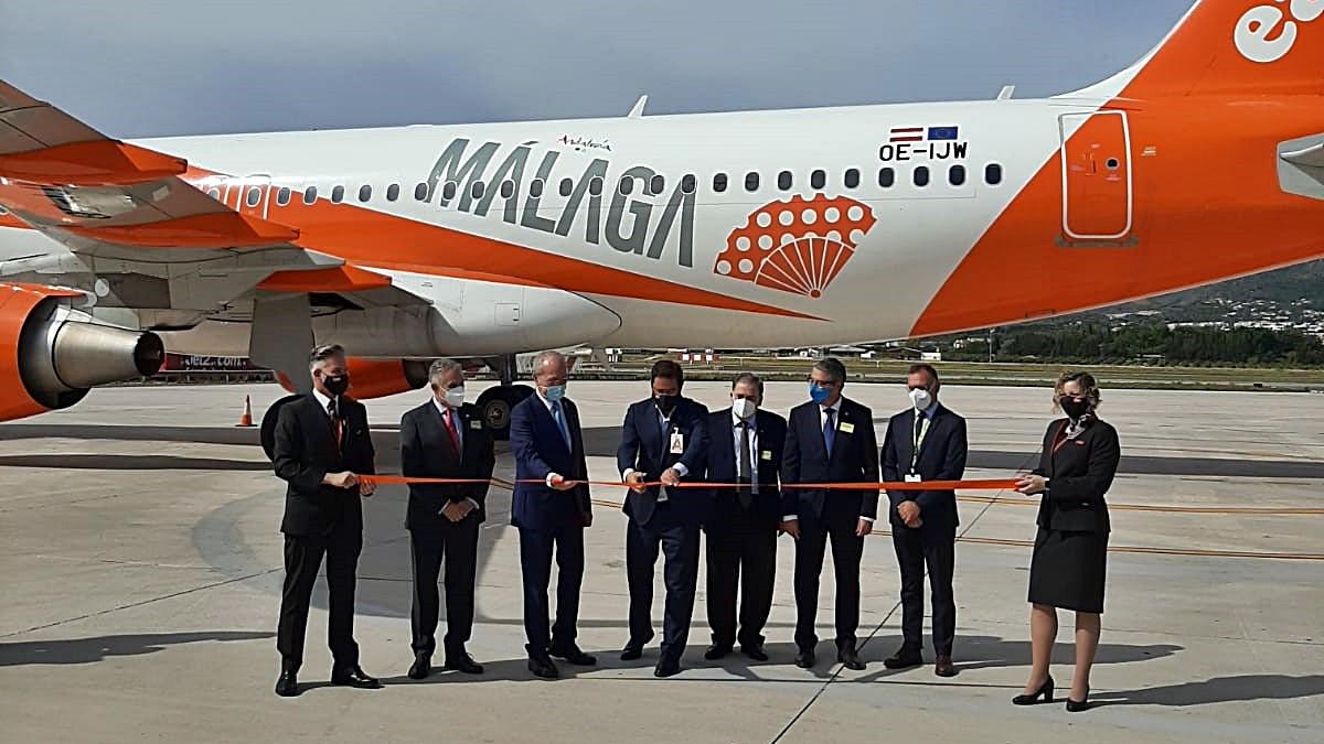 easyJet - baseåpning - Malaga - juni 2021