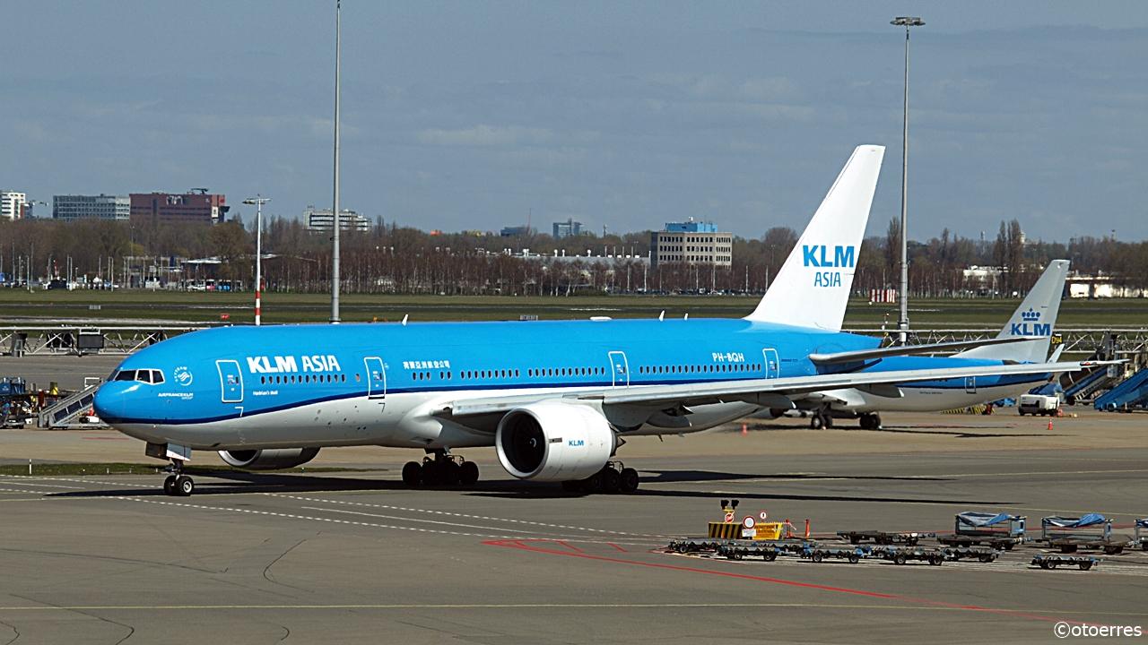 Boeing 777 - KLM Asia - Amsterdam Schiphol