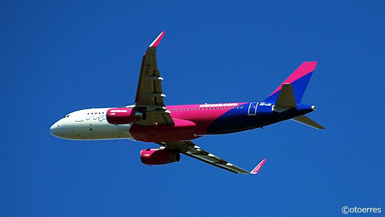 Airbus A 320 - Wizz Air - Stavanger lufthavn Sola