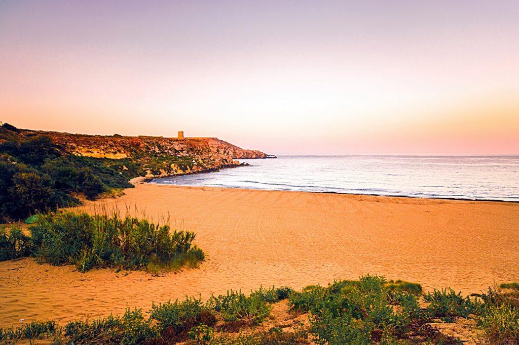Ramla bay - Gozo - Malta - Middelhavet