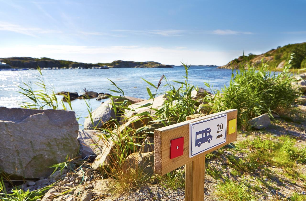 Sverige - Campingplass ved havet - SCR Svensk Camping