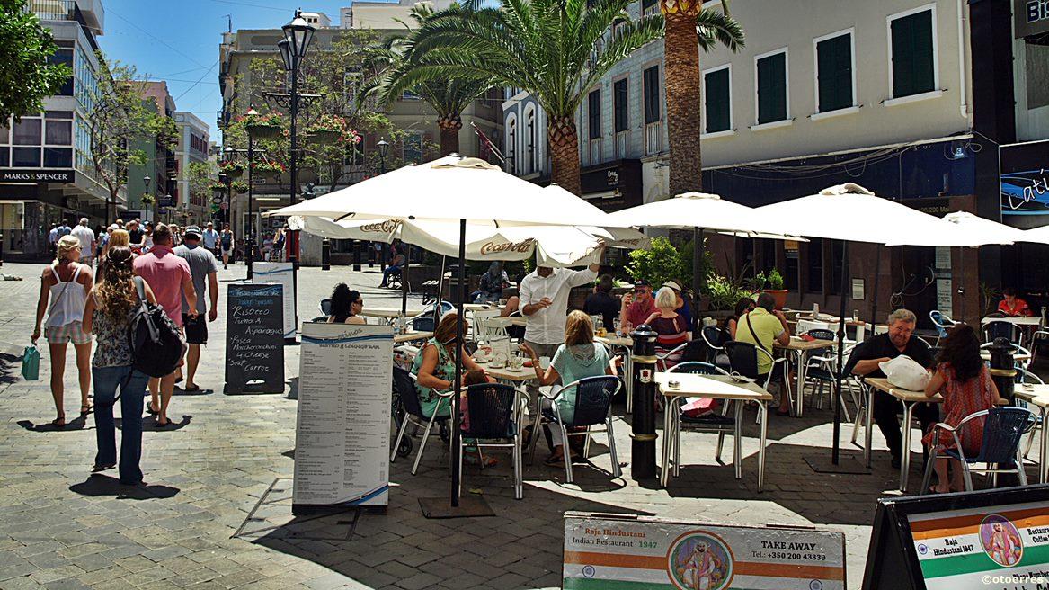 Fortausrestaurant - gateparti - Gibraltar