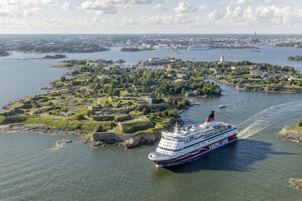 MS Gabriella - Viking Line - Sveaborg - Suomenlinna - Helsingfors