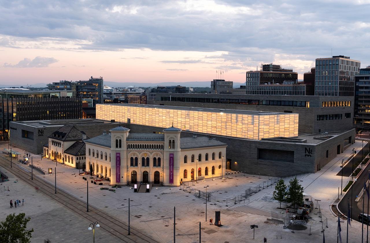 Nasjonalmuseet - Vestbanen - Oslo - åpnes 2021