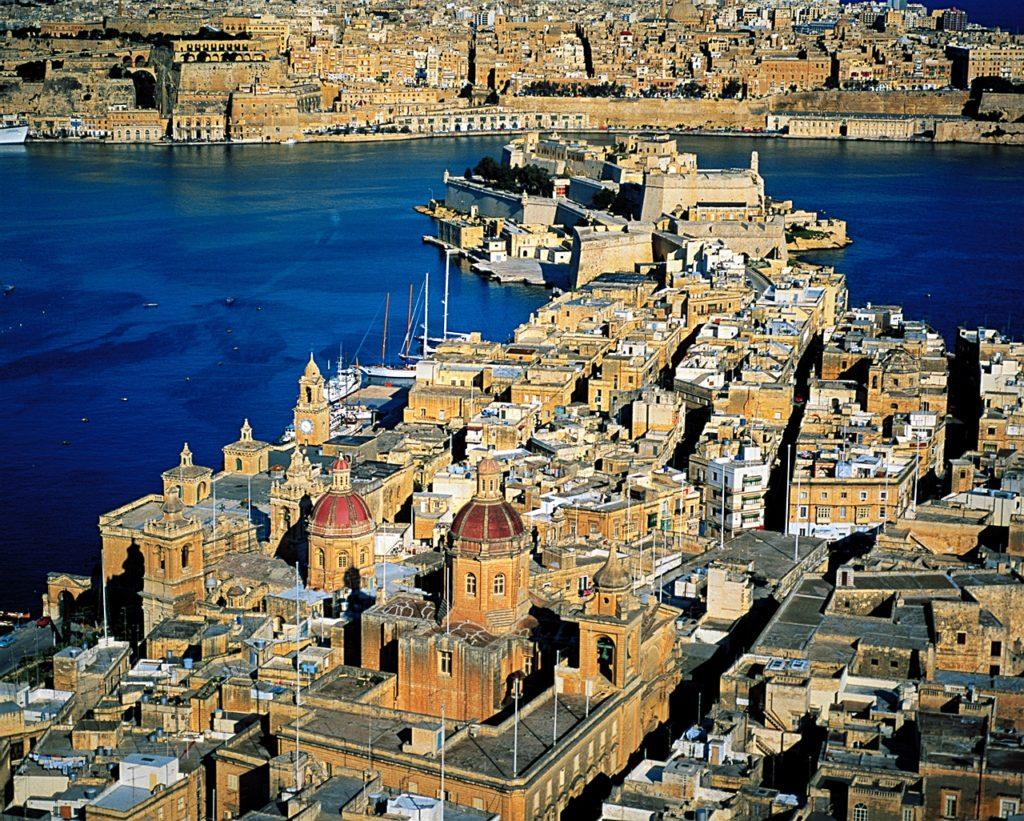 Birgu - Vittoriosa - by - Malta - Middelhavet