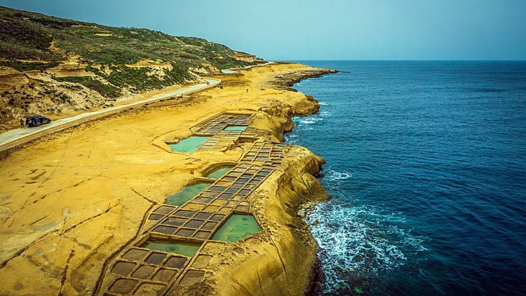 Xwejni Bay - Gozo - Malta - Middelhavet