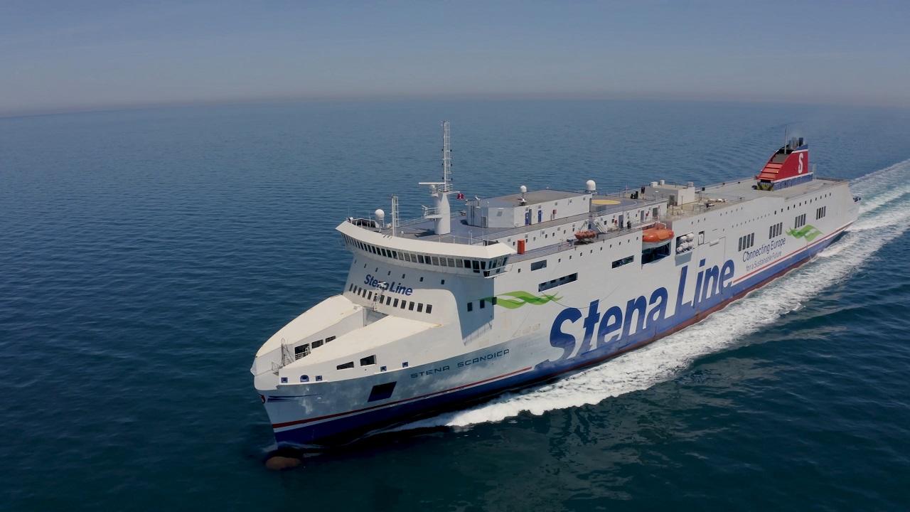 Stena Scandica - Bilferje - Sverige - Latvia - Stena Line