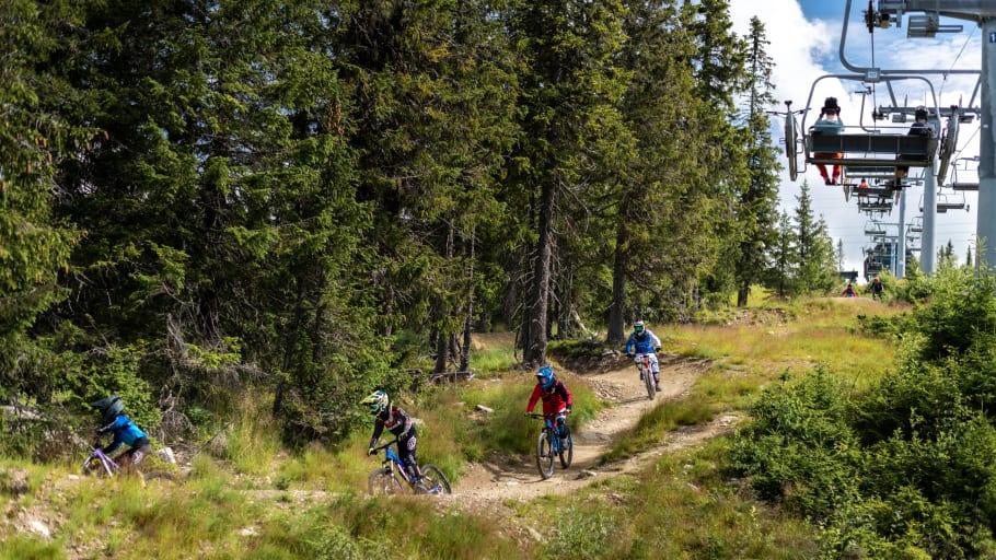Sykkelløype - Hafjell Bike Park